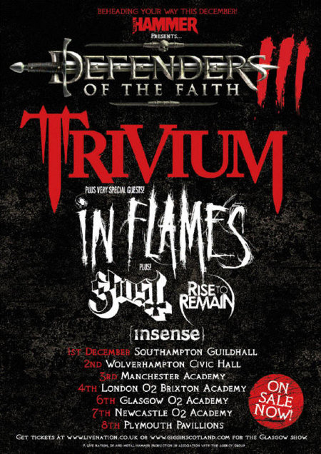 defenders of the faith tour