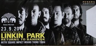 linkinparkbangkokticket