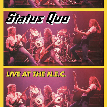 Status Quo \'Live At The NEC\' To Be Repressed After Error