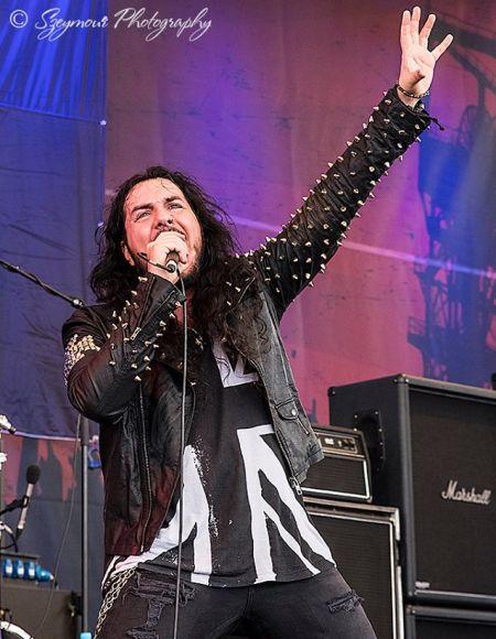 Peter Ellis With Monument At Rock Hard Festival Germany 2017 Photo By Karoline Hanna C Szeymour Photography