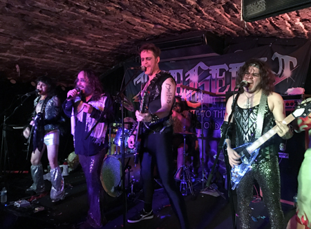Metal Tribute To The Bee Gees Tragedy Bring Their How Deep Is Your Mum Tour Edinburgh
