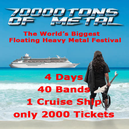 70000 tons of metal