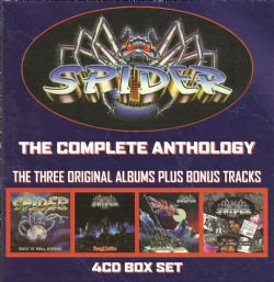 spider the complete anthology