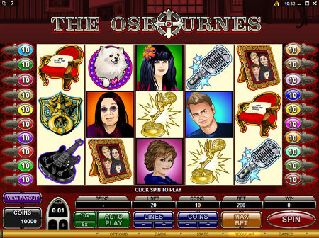 osbournes slot game
