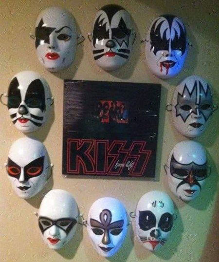 Kiss Makeup Design Ownership: Undiscovered Kisstory- Alternative Make Up Designs