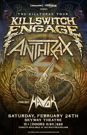 killswitch engage anthrax